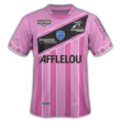 Maillot third Troyes